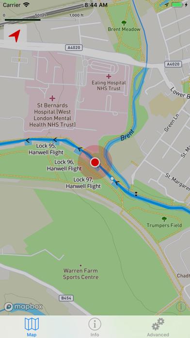 Open Canal Map UK screenshot one