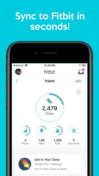 Sync For Apple Health > Fitbit screenshot-3