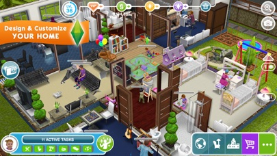 Screenshot from The Sims™ FreePlay