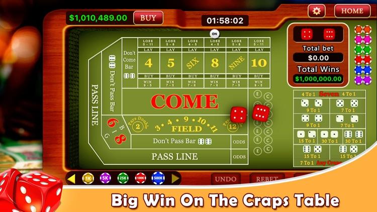 Craps - Casino Style! screenshot-3