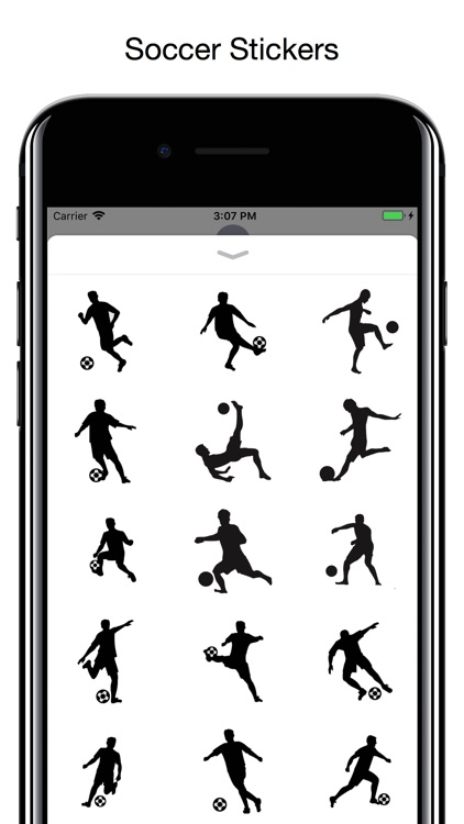 Soccer stickers - Football WC