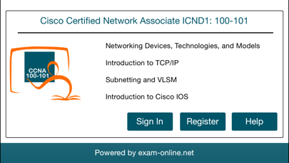 CCNA 100-101 ICND1 Exam Online screenshot one