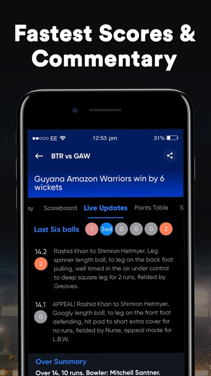 SportsTiger Cricket Live Score screenshot-3