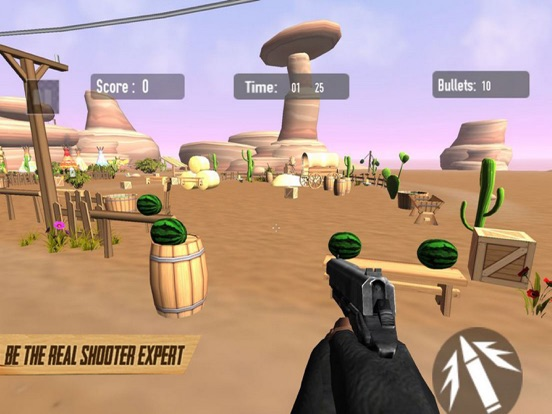 Real Gun Shoot - Fruit Target screenshot 6