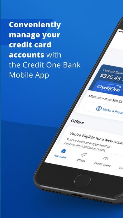 Credit One Bank Mobile screenshot-0