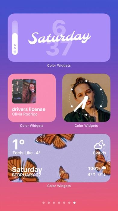 Color Widgets screenshot 7