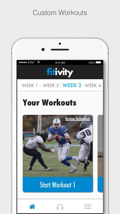 Fitivity - Athlete Training
