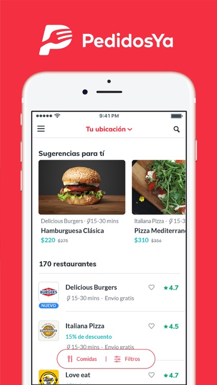 PedidosYa - Food Delivery screenshot-4