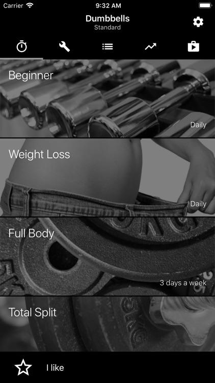 Dumbbell Home Workout screenshot-3