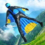 Base Jump Wing Suit Flying на пк