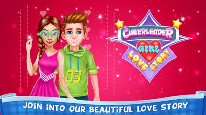 Cheerleader Girl Love Story Screenshot