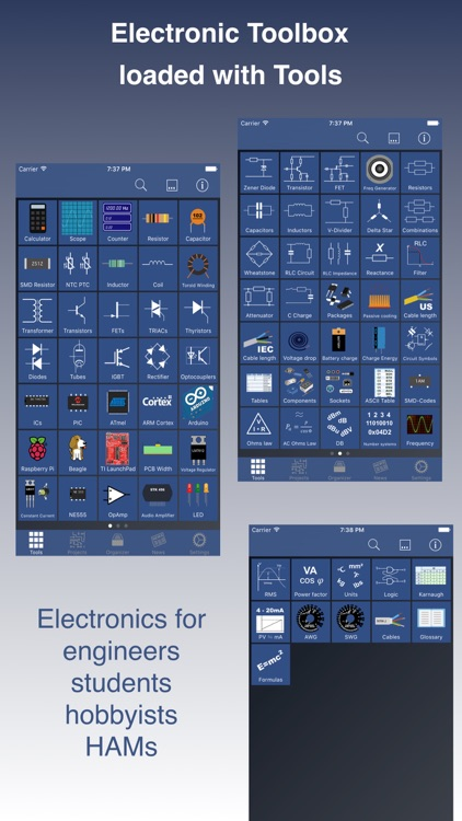 Electronic Toolbox Pro screenshot-0