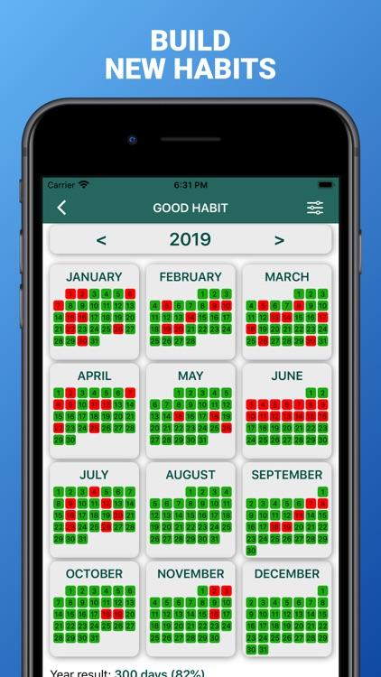 Cross out calendars screenshot-3