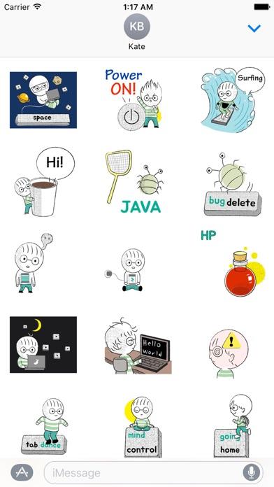 Animated Developer's Day Emoji screenshot 1