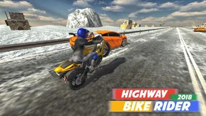 Highway Bike Rider 2018 screenshot one