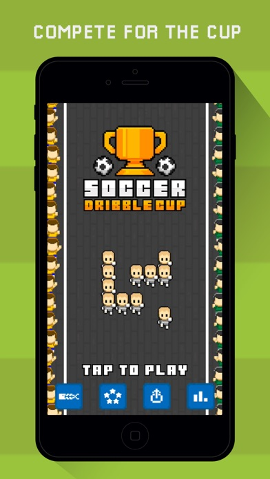 Screenshot 4 Soccer Dribble Cup: high score
