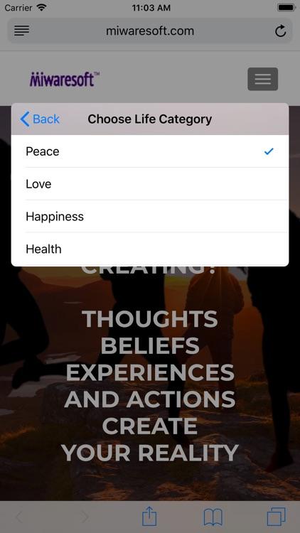 Miwaresoft Wheel Of Life screenshot-3