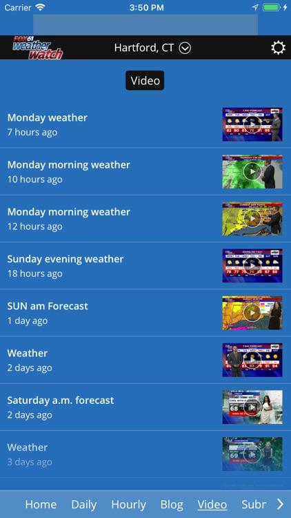 Fox61 Weather Watch