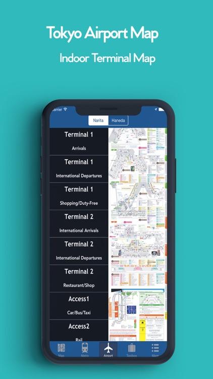 Tokyo Offline Map, Metro screenshot-3