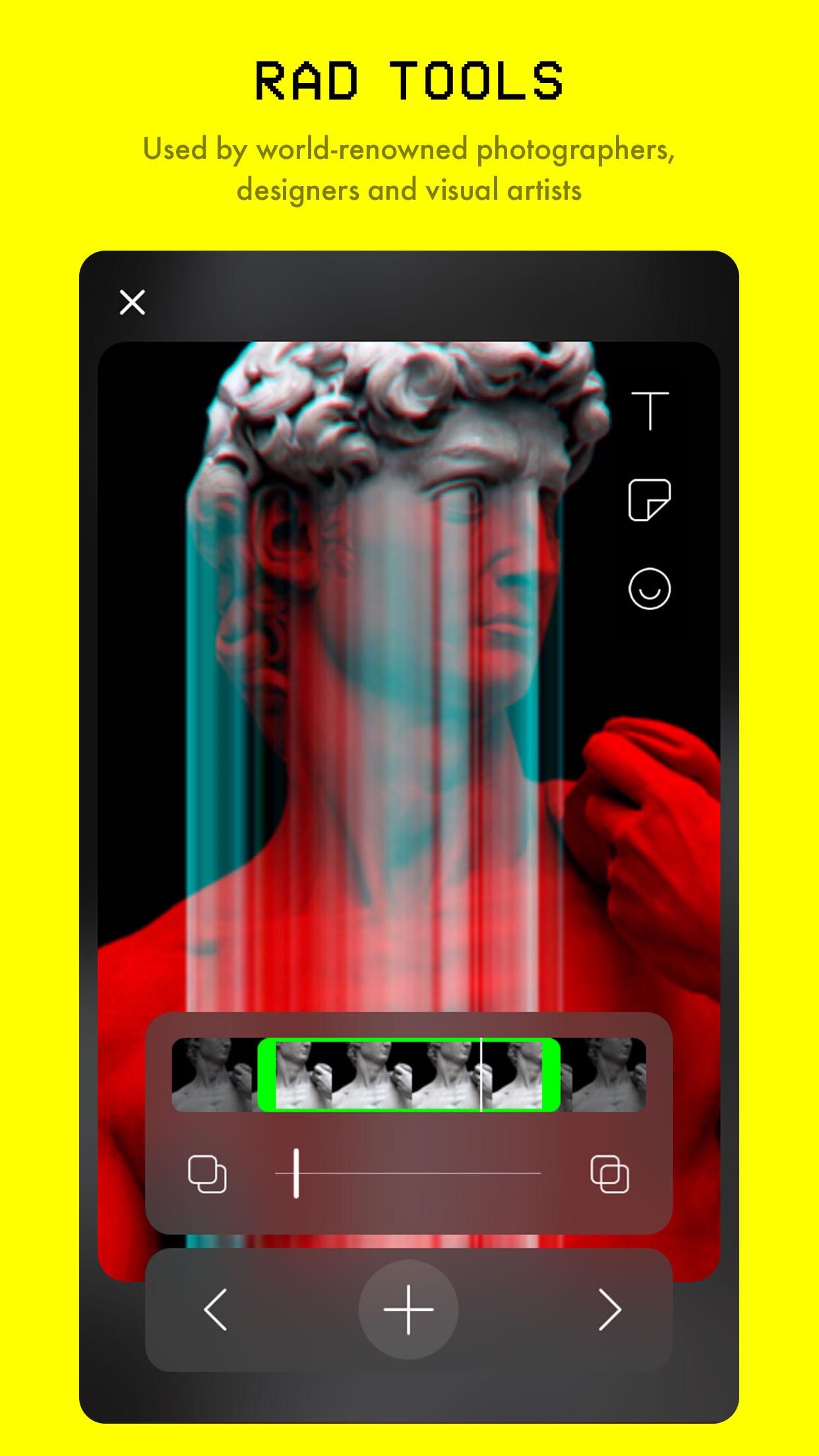 Glitché - Photo & Video Editor Screenshot