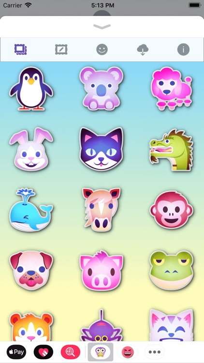 Animals Emoji • Stickers screenshot-7
