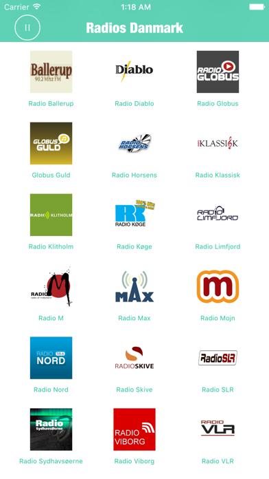 Radios Danmark (DR Radio FM) screenshot three