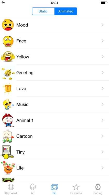 Emoji Keyboard New screenshot-3