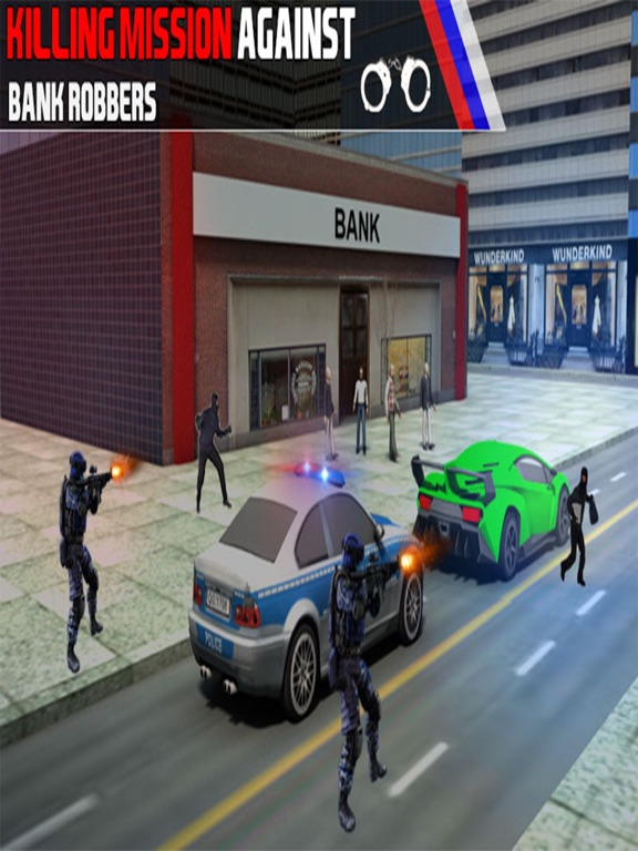 Bank Robbery 3D Police Escape-ipad-3