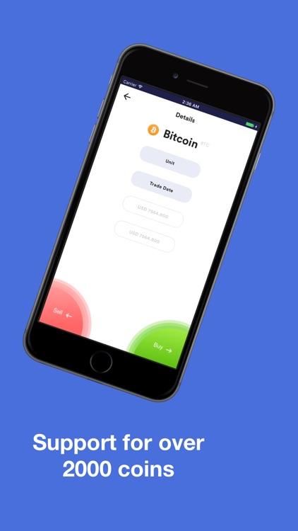 Whalefolio - Crypto Portfolio screenshot-3
