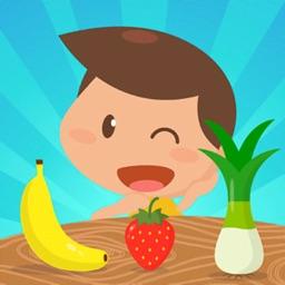 Fruits & vegetables kids games