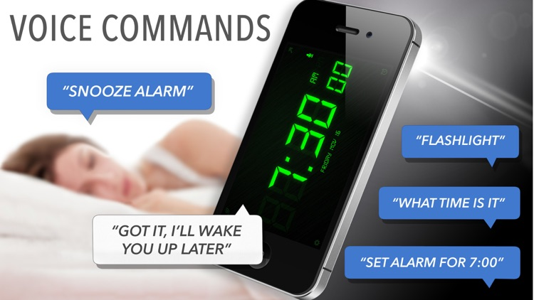SpeakToSnooze Alarm Clock Pro screenshot-0