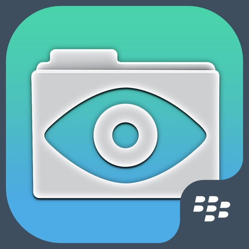 Secure Reader for BlackBerry iOS App
