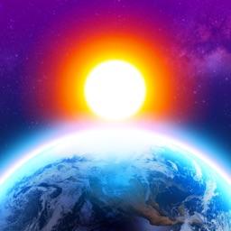 3D Earth - widget météo