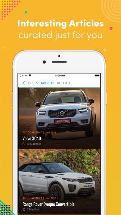 Autocar India Mag screenshot two
