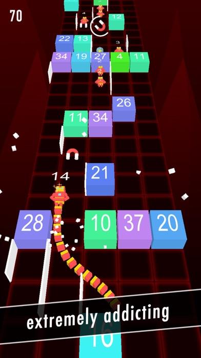 Balls Snake-Hit Up Number Cube screenshot four