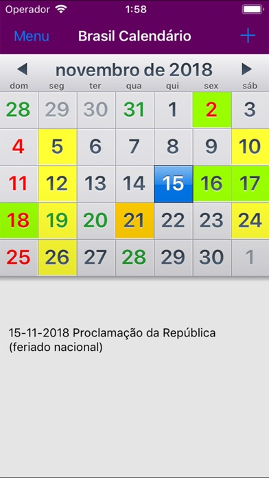 Download Calendário 2019 Brasil for Android