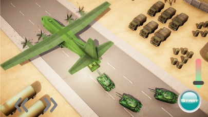 US Army Truck driving & Plane screenshot two