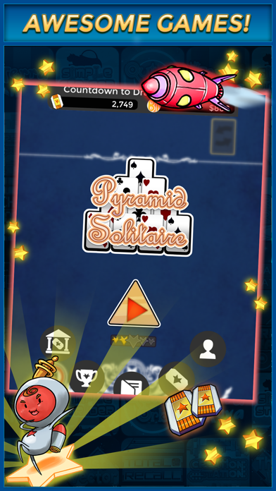 Pyramid Solitaire Cash App by WINR Games Inc  (iOS, United States