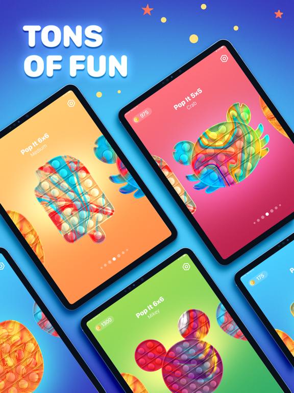 Pop it Game - Fidget Toys 3D iPad app afbeelding 5