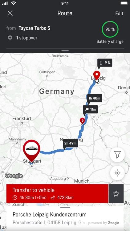 Porsche Connect App screenshot-4