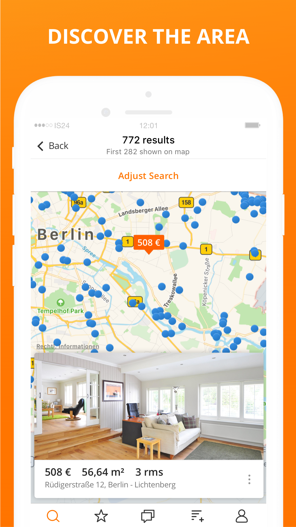 ImmobilienScout24: Real Estate Screenshot