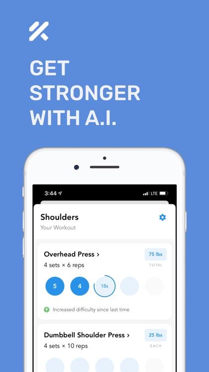 Personal Trainer – FitnessAI screenshot-0
