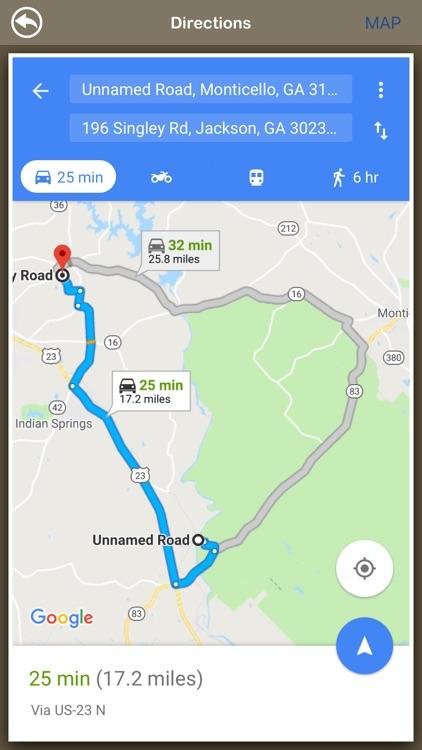 Georgia Hiking Trails screenshot-3