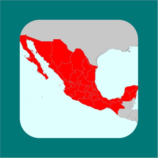 My Mexico Map icon