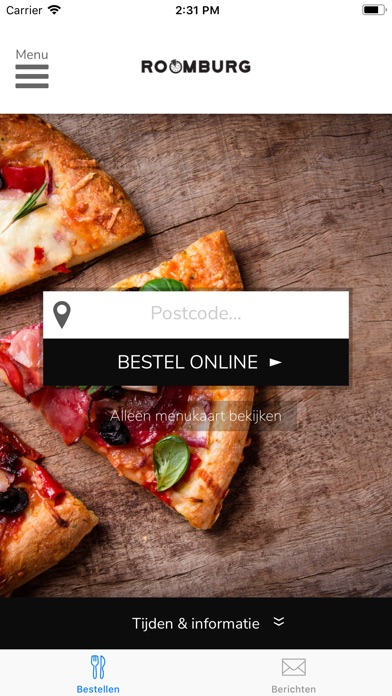 App Shopper Pizzeria Roomburg Food Drink