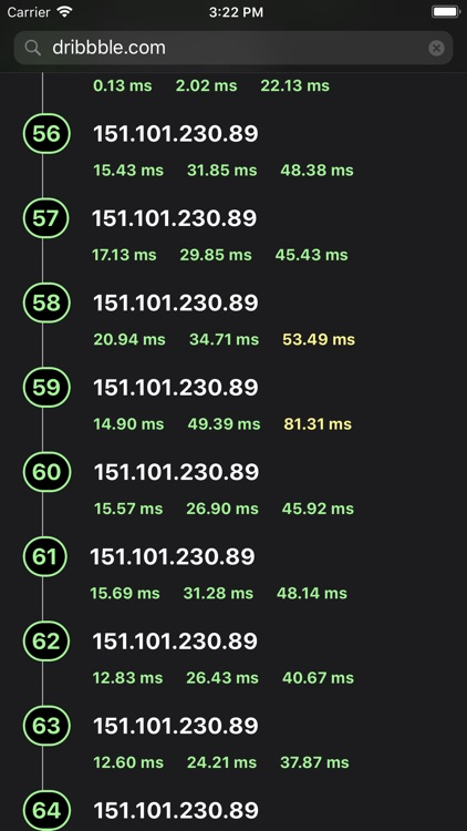 Traceroute - Ping IP Tool screenshot-4