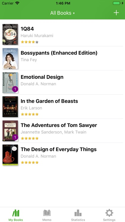 BookTree: bookshelf & note screenshot-1