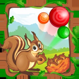 Squirrel Puzzle:Bubble Shooter