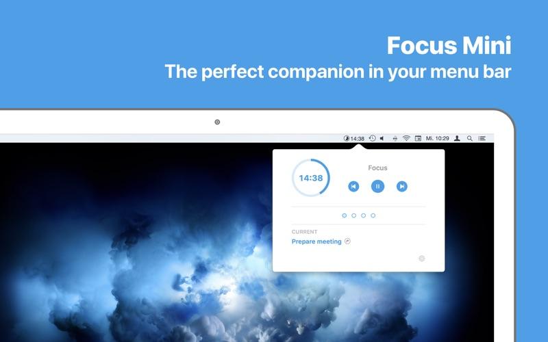 Focus - 生产力时间管理工具 for Mac
