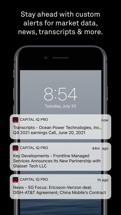 S&P Capital IQ Pro screenshot-4